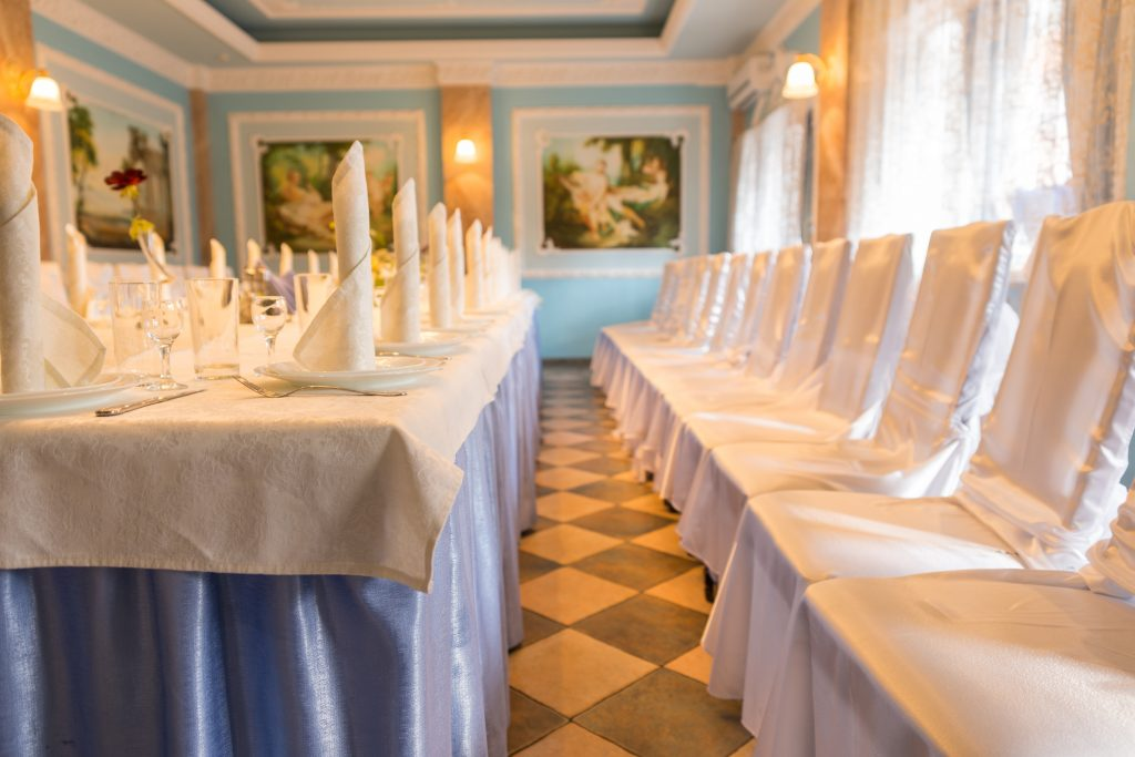 Indoor wedding venues like ballrooms give elegance and class to your event.