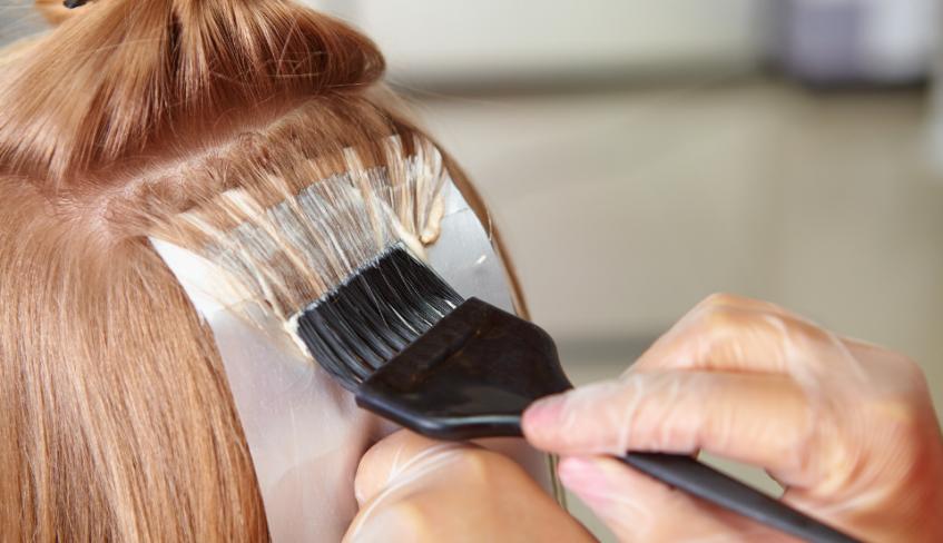 hair salons bleaching