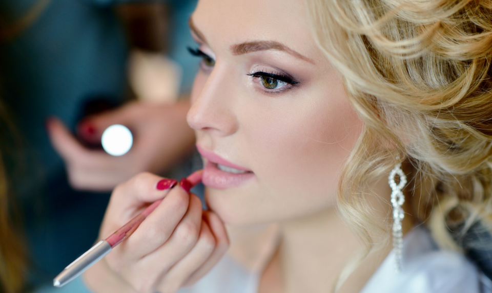 make-up by a bridal make up artist