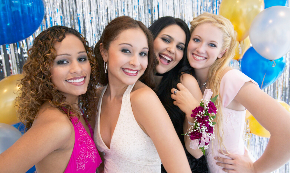 There are a lot of things to consider when deciding on how to style your prom hair.