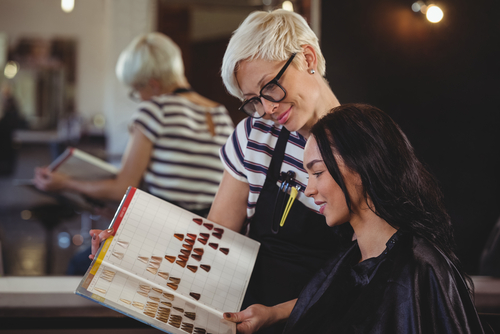 Hairstylists must have an initial consultation with clients before starting any work.