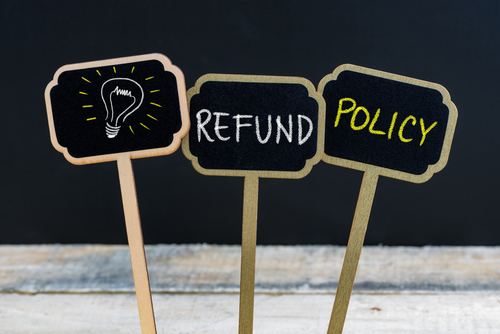 Set a good refund policy for your salon.
