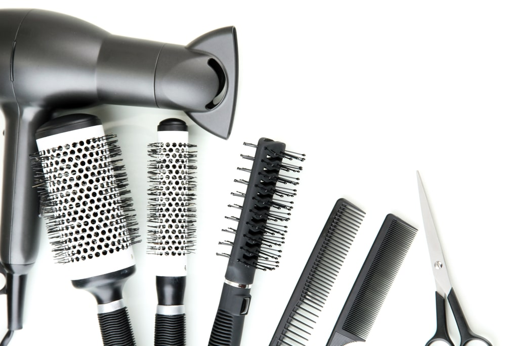 Tools are important for beauty salons.